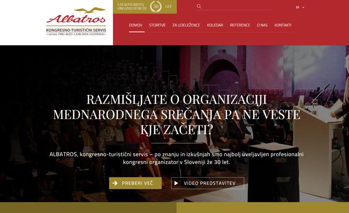 ALBATROS KONGRESNI SERVIS, kongresno - turistična agencija d.o.o.