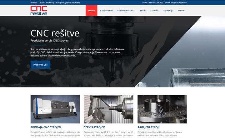 CNC Rešitve