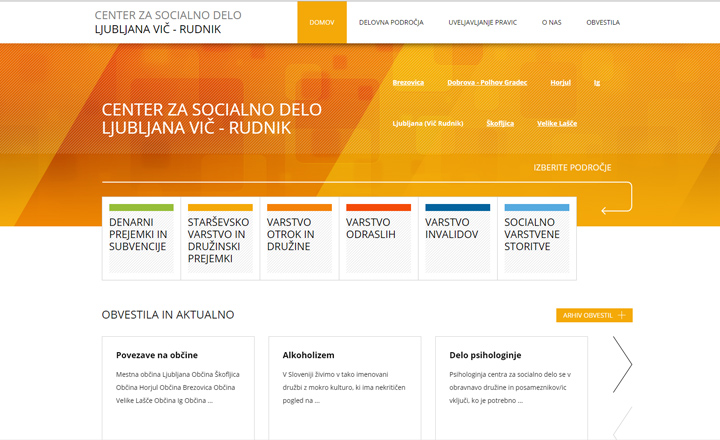 CENTER ZA SOCIALNO DELO LJUBLJANA-VIČ-RUDNIK
